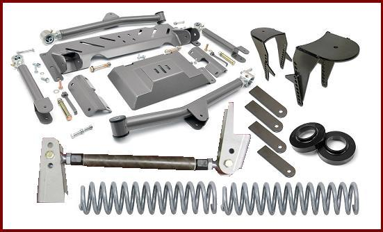 S10 Coil Spring Solid Axle Conversion Builder's Kit