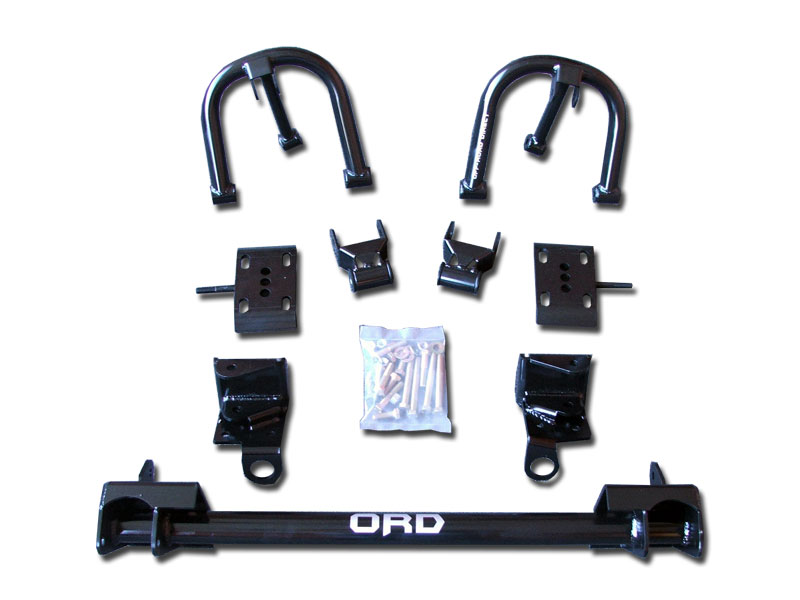 94-04 Chevy S10 Solid Axle Conversion (4wd) - 4wdfactory com