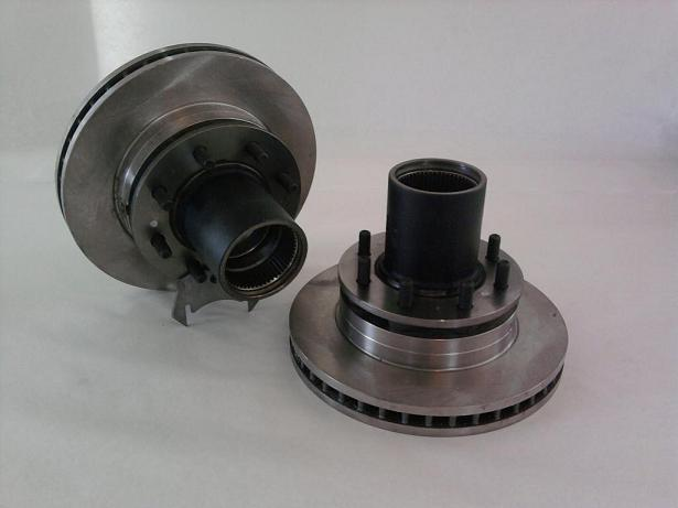 Wheel Hubs with rotors, GM/Dodge with Dana 60 (PAIR