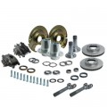6 on 5.5 Front End Kit for GM/Dodge/Jeep D44