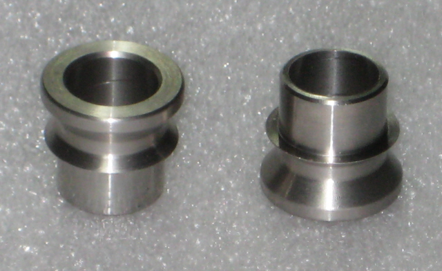 Stainless steel high misalignment spacer wdfactory